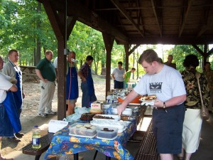 Clergy Cookout 003